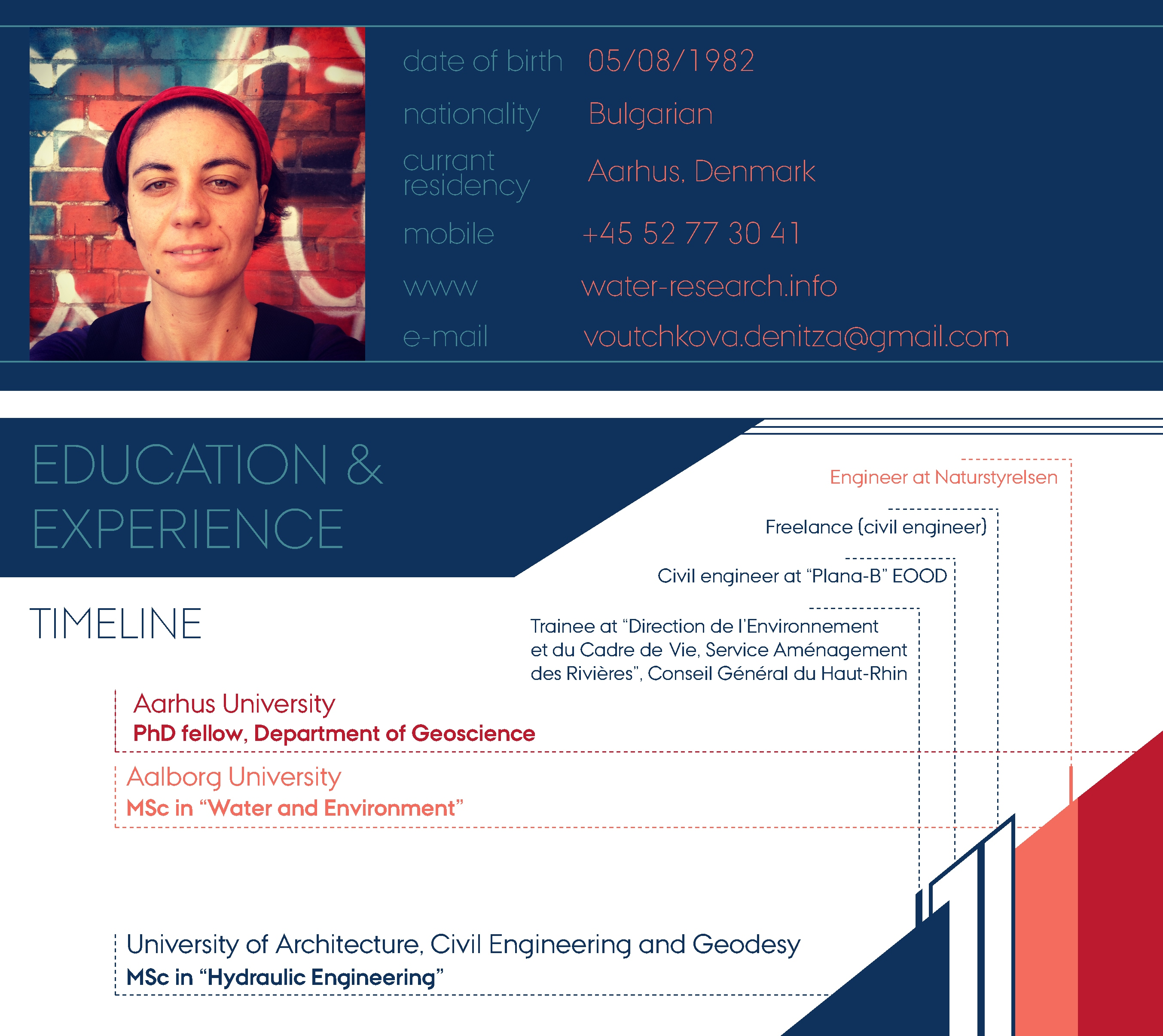 About my Infographic resume