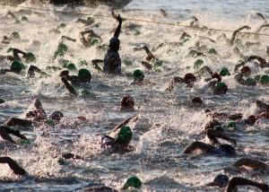 triathalon swim