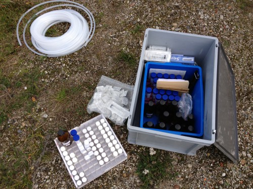Materials for groundwater sampling
